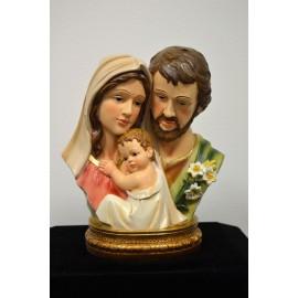 Busto de resina Sagrada Familia