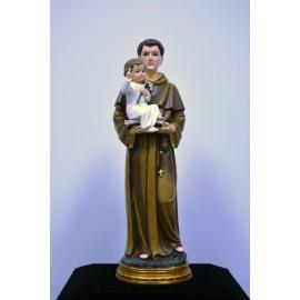 Figura de resina de San Antonio 30 cm