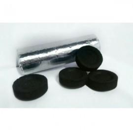Paquete 10 pastillas pequeñas  carbón litúrgico